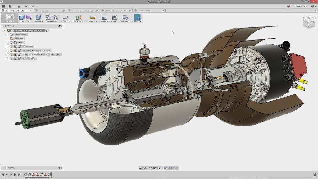 modellazione solida 3D autodesk Fusion 360